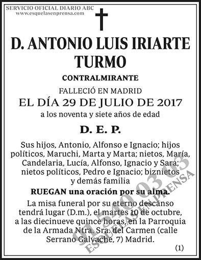 Antonio Luis Iriarte Turmo